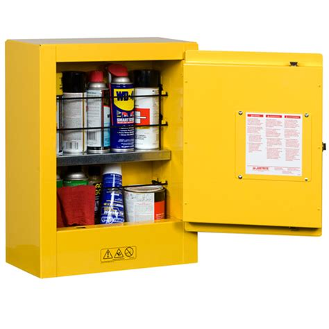 Justrite Safety Flammable Storage Cabinets with FREE