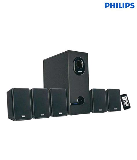 Philips Htb5570d Home Theater 5 1 philips dsp35e 5 1 speaker system buy rs 2799
