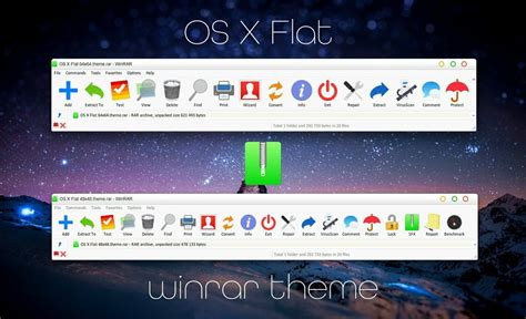 download themes windows 7 rar os x flat winrar theme by alexgal23 on deviantart