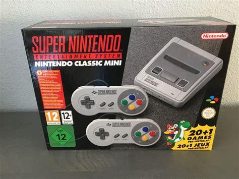 nintendo classic console nintendo classic mini snes console catawiki