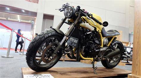Dudukan Stang Suzuki Smash Lama Asli modifikasi inazuma 250cc dengan gaya cafe racer