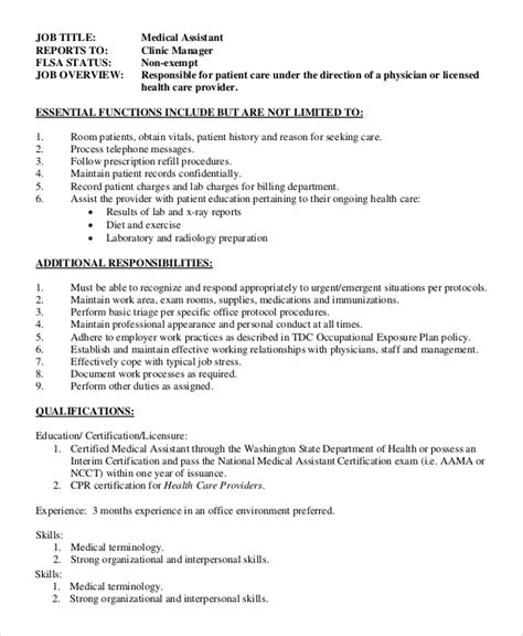 sle office assistant job description 8 exles in
