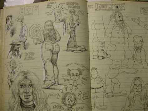 R Crumb Sketches by R Crumb Sketchbook Page Rosenwald Wolf Gallery In 2007