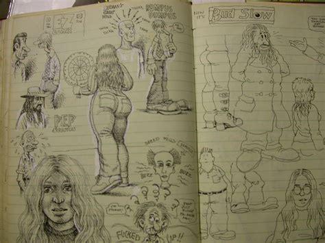 r crumb sketchbook zweitausendeins r crumb sketchbook page rosenwald wolf gallery in 2007