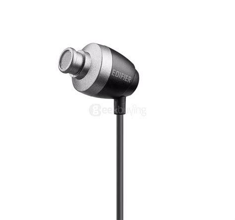 Earphone With Mic Edifier H185p edifier p210 in ear headphones blue