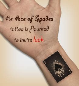 q tattoo meaning 10 cool ace of spades tattoo designs with meanings spade