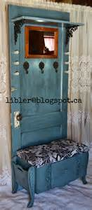 Furniture Made From Old Doors Macgirlver Turquoise Hall Tree