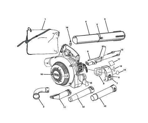 ryobi blower parts diagram buy ryobi ry08544 replacement tool parts ryobi ry08544