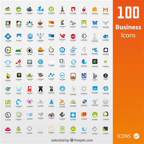 business cards templates icons collection of business icons vector free