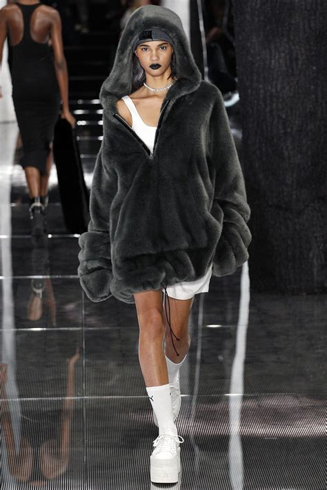 Fc Elsa New 4 Grey fenty x f w16 17 new york model showlists model