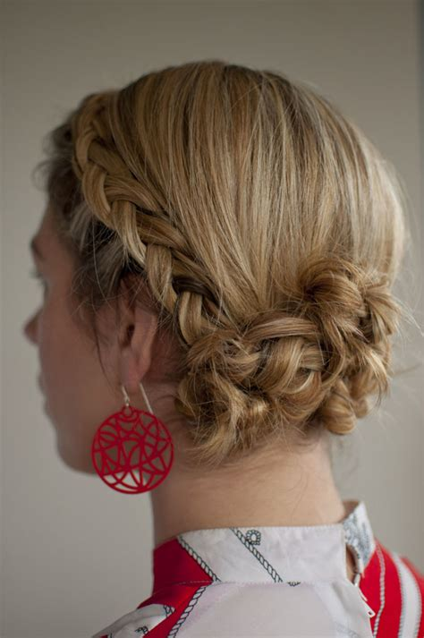 Twist And Pin Hairstyle by 30 Days Of Twist Pin Hairstyles Day 4 Hair
