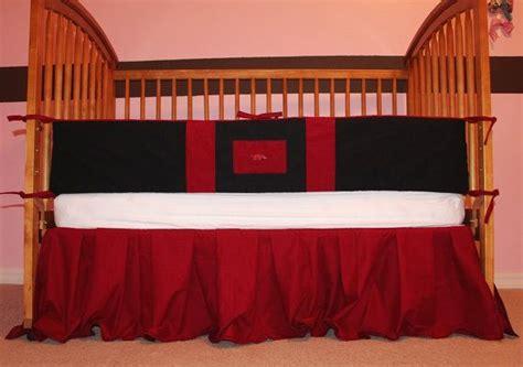Razorback Crib Bedding by Baby Boy Crib Toddler Bedding Set Arkansas Razorbacks By