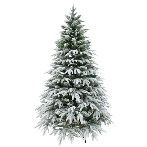 photos of atrificial christmas tress with snow luxury snow tipped tree artificial pine indoor decoration 6ft 7ft ebay