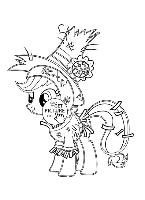 halloween coloring pages my little pony my little pony funny applejack pony halloween coloring