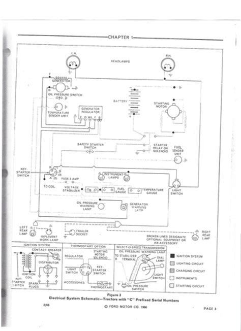 ford 3400 tractor steering parts diagram ford free