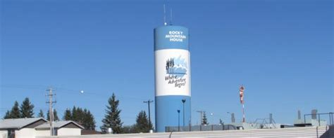 mountain house water rocky mountain house s water tower will be torn down after helipad mistake