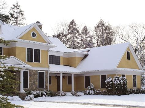 winter home design tips tips for winter curb appeal hgtv