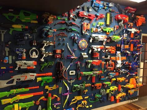 Boys Bedroom Ideas by Top 10 Ways To Make Your Nerf Display Better
