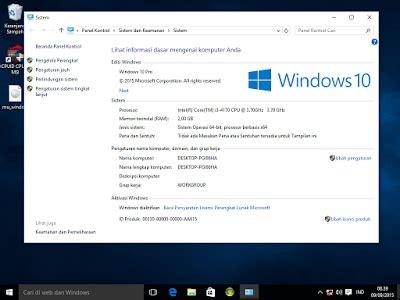 tutorial windows 10 indonesia pdf cara ubah tilan windows 10 menjadi bahasa indonesia