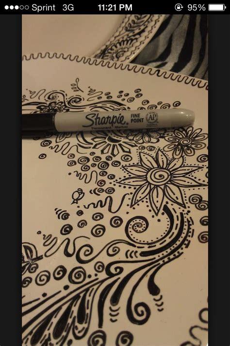sharpie doodle ideas 10 best images about doodle flowers on