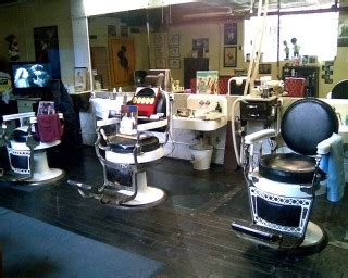 haircuttingfun barber shop 1920s looking barbershop in st peter minnesota