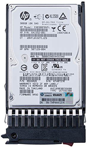 300gb 25 Inch Serial Attached Scsi Sas Sff 6g 10k hp 300gb 6g sas 10k sff 2 5 inch dual port enterprise