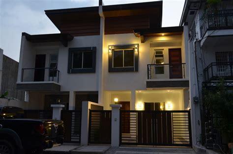 modern duplex house designs philippines duplex house modern asian duplex northview qc philippines