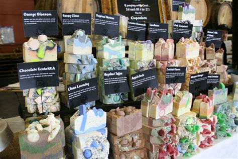 where to sell products markets and retail soap