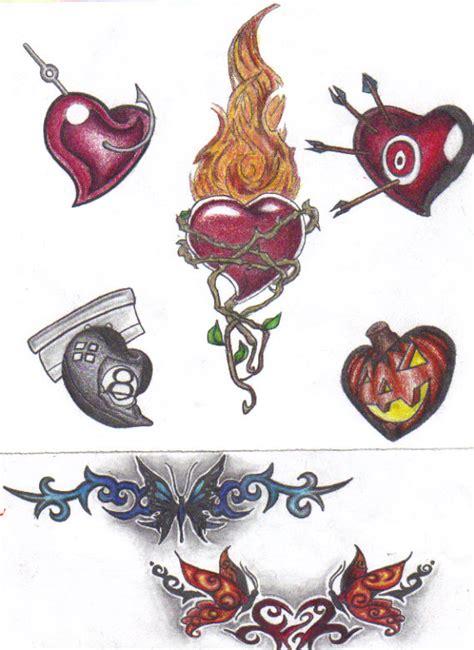 tattoo flash reddit tattoo flash hearts 3 by cynthiardematteo on deviantart