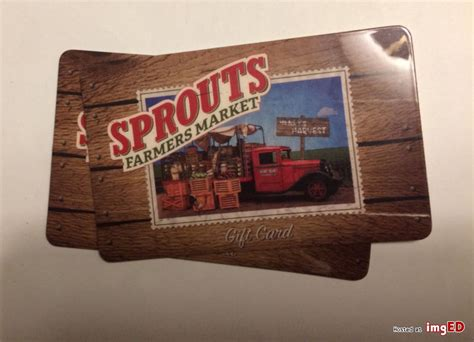 Sprouts Gift Cards - 200 sprouts gift card image on imged