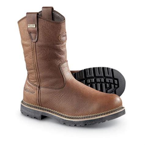 la crosse boots lacrosse waterproof foreman wellington plain toe boots