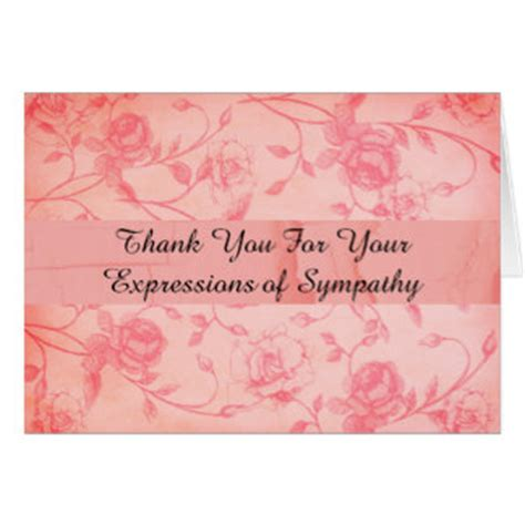 Thank You Card Wording For Sympathy Gift - sympathy thank you wording gifts t shirts art posters other gift ideas zazzle