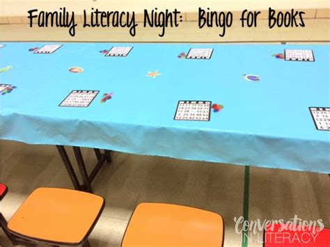 themes for reading night organizing a successful family literacy night