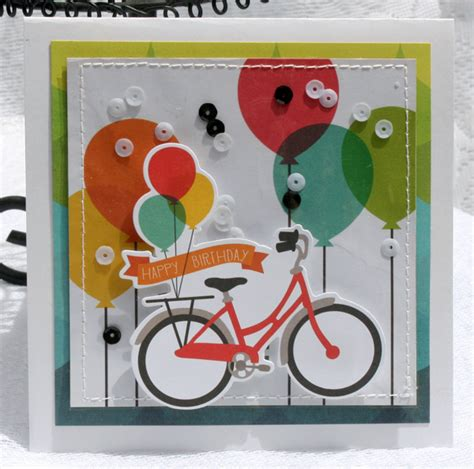 scrapbook layout cycling happy birthday bicycle scrapbook com the simple