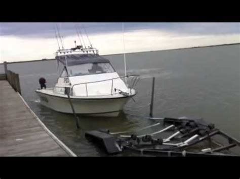 driving boat on trailer driving j83 jet boat onto trailer youtube