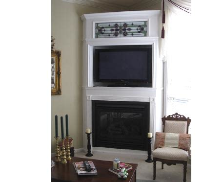 Tv Corner Fireplace by Corner Fireplace Remodel