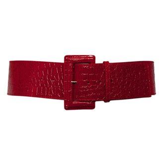 plus size leather belts plus size croco print patent leather belt evogues apparel
