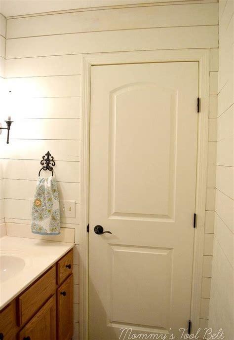 Faux shiplap bathroom makeover hometalk