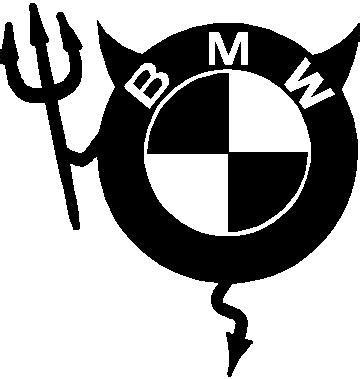 Bmw Girl Sticker by Bmw Devil Decal Sticker