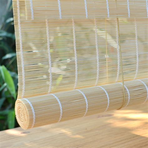 custom bamboo curtains on sales high quality custom natural bamboo shutter