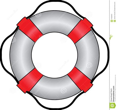 lifeboat ring clipart marine lifesaver stock vector image of isolated white