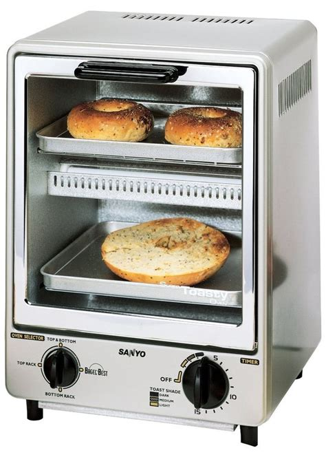 Toaster Sanyo this compact toaster oven isn t just for bachelors