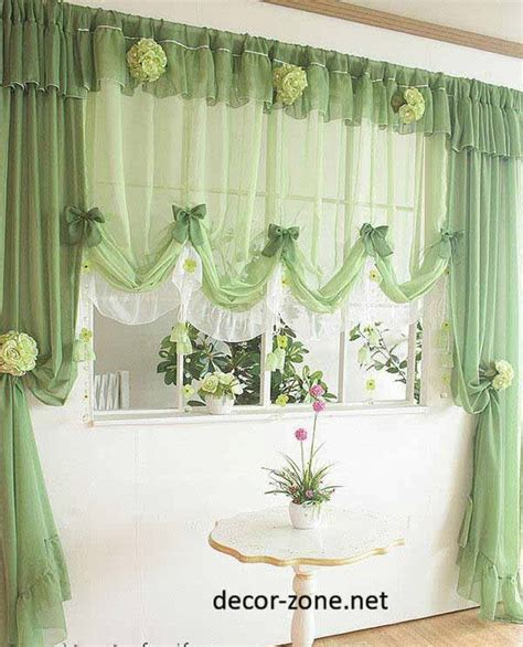 modern green kitchen curtains quicua com