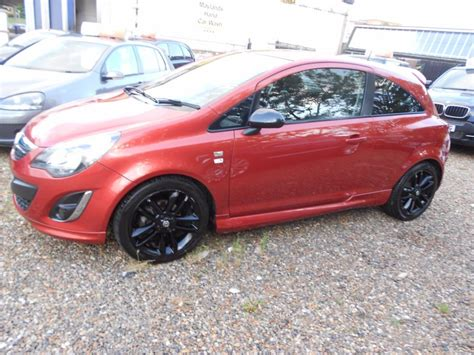 vauxhall orange used orange vauxhall corsa for sale hertfordshire