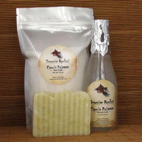 Salt Bath Odour Repellent 3 expecto patronum dementor repellent gift set 1 bath salt