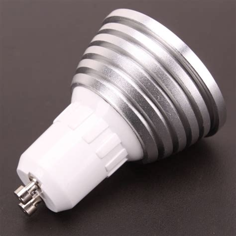 remote led bulb light 16 color changing gu10 3w 16 color changing remote dimmable led bulb