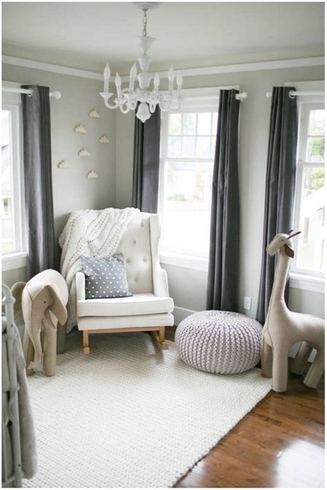 Gray Brown Curtains Decor Top 25 Best Boy Nurseries Ideas On Nursery Nursery Design And Nursery Decor