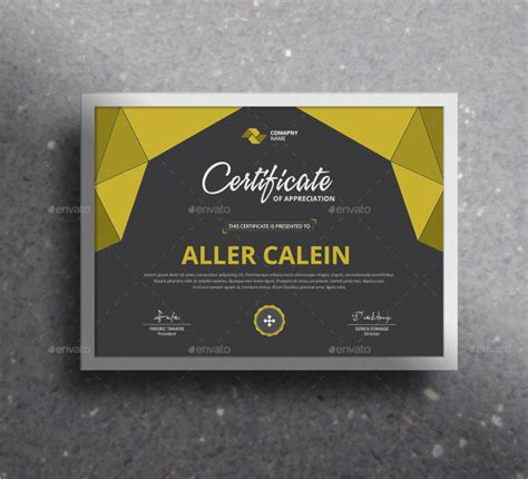 30 psd certificate templates psd free formats download