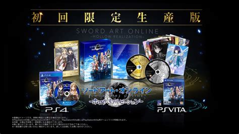 Cd Playstation Ps4 Sword Hollow Realization R3 sword hollow realization launches october 27