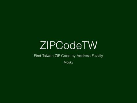 Zip Code Finder By Address Zipcodetw Find Taiwan Zip Code By Address Fuzzily